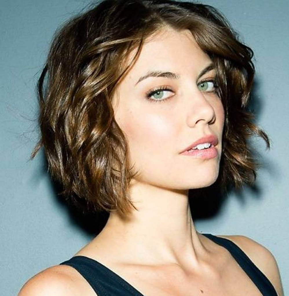 Best Trend Hairstyle: Short Haircuts For Wavy Hair With Short Cuts For Wavy Hair (View 8 of 25)