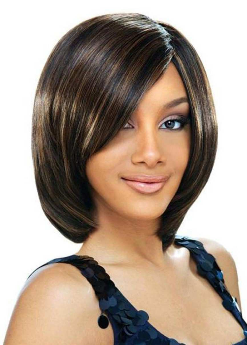 Black Bob Hairstyles Pictures New Bob Hairstyles Black Women Cute Within Bob Short Hairstyles For Black Women (View 25 of 25)