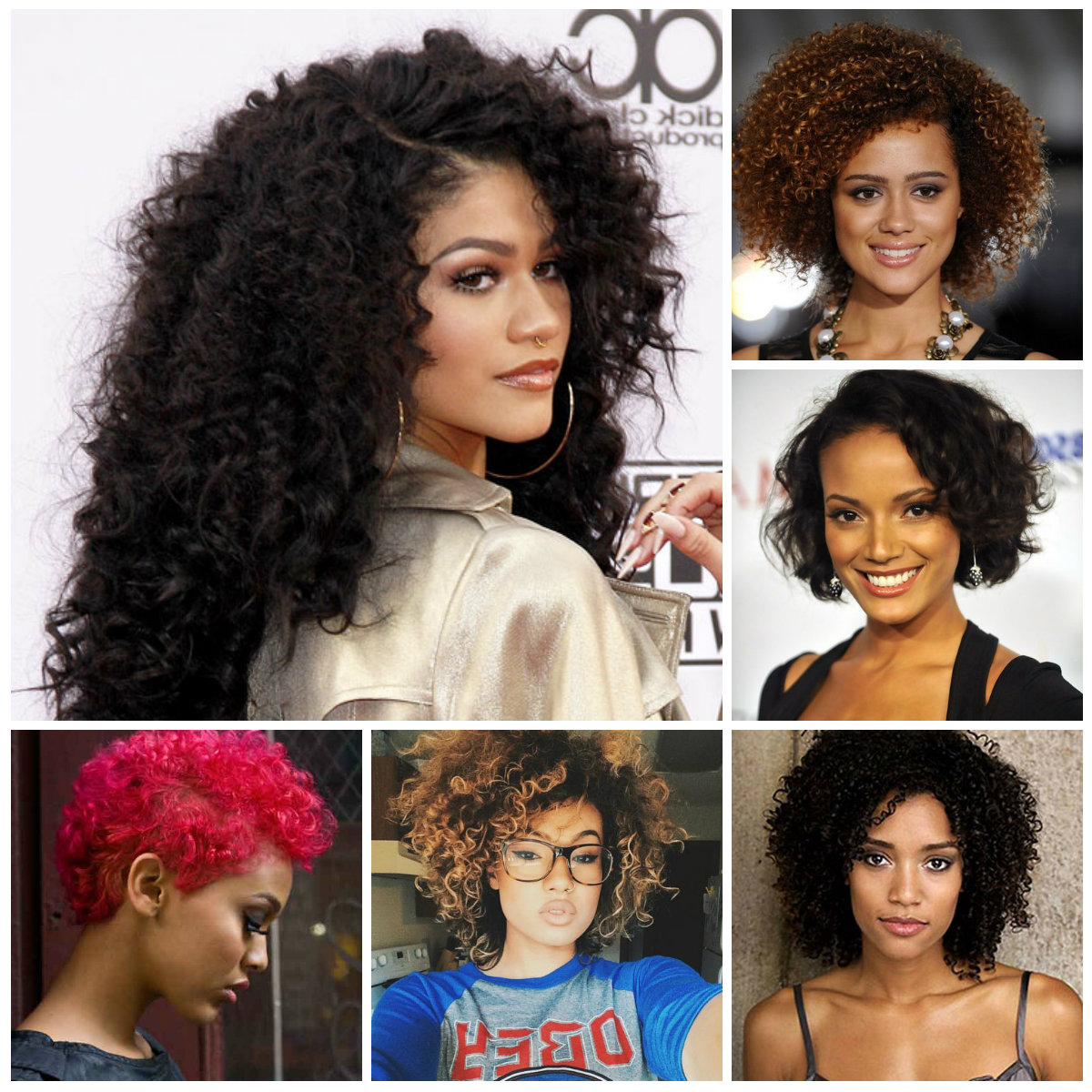 Black Curly Hairstyle Ideas | Hairstyles For Women 2019, Haircuts With Curly Black Short Hairstyles (View 13 of 25)