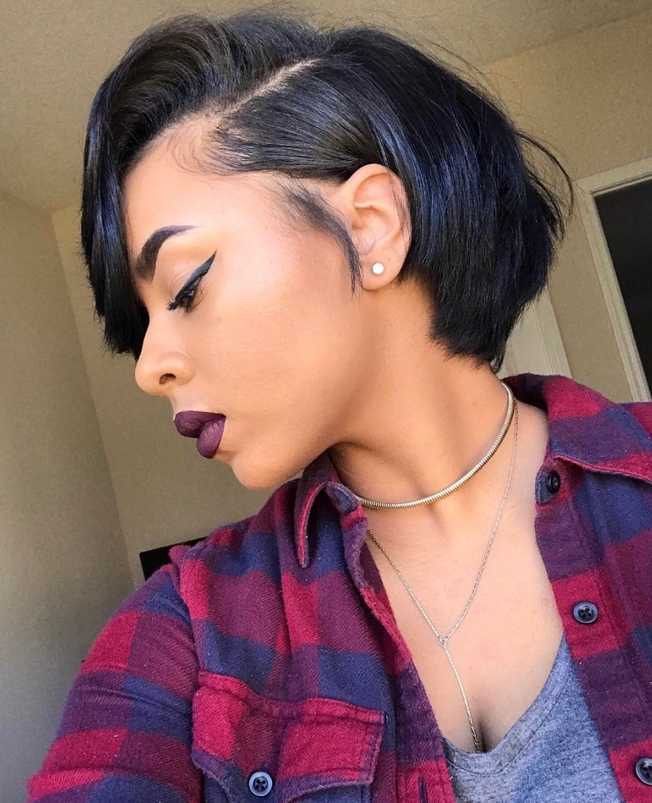 Black Girl Short Hairstyles – Leymatson Inside Short Hairstyles For African Hair (View 17 of 25)