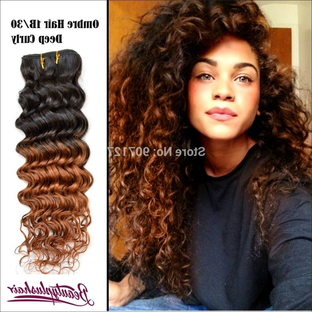 Black Natural Curly Hair With Highlights – Amazinghairstyles (View 10 of 25)