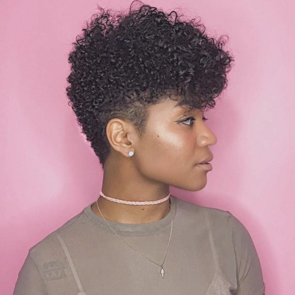 Black Short Natural Hairstyles   30 Pretty Short Natural Haircuts In Black Women Natural Short Haircuts (View 11 of 25)