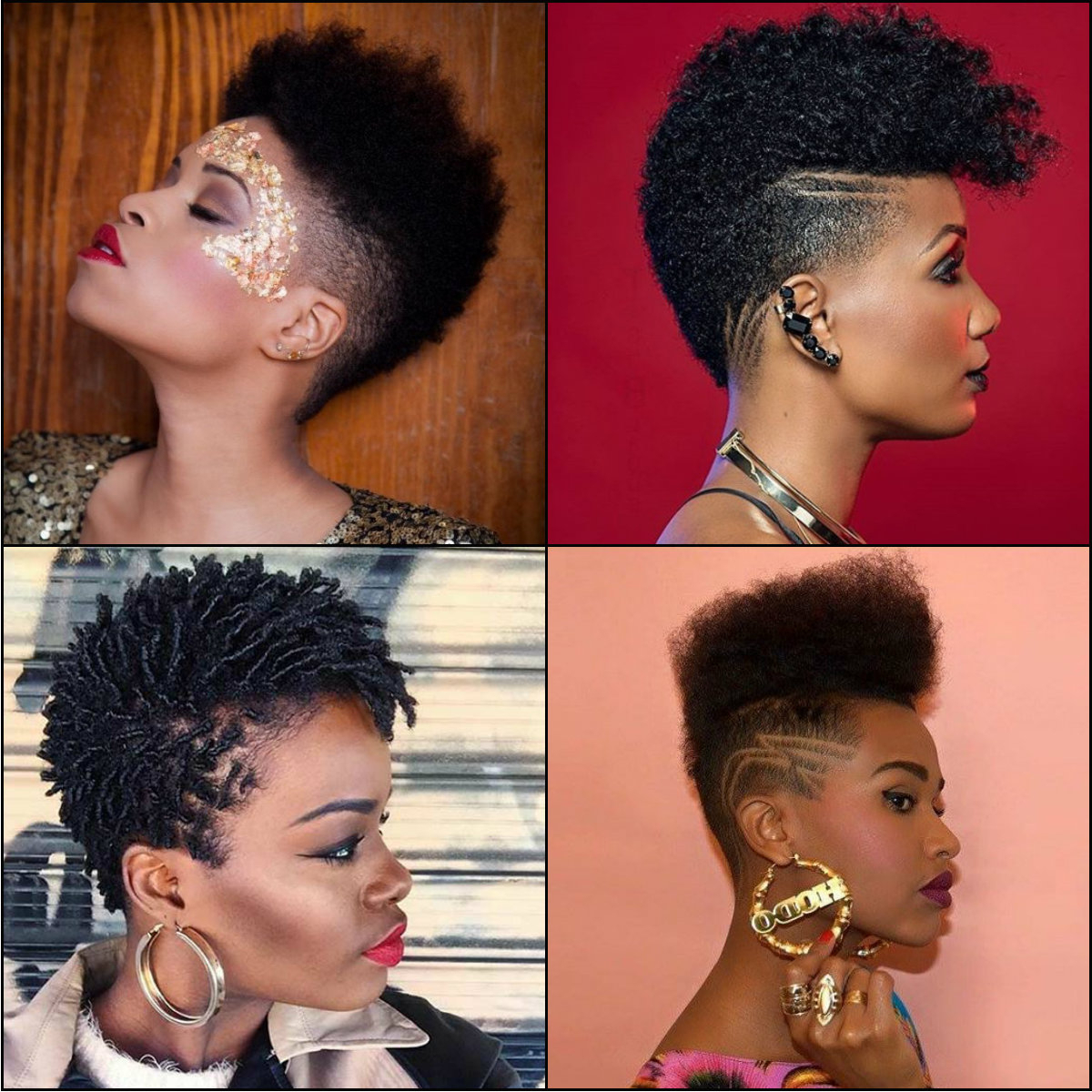 Black Women Fade Haircuts To Look Edgy And Sexy | Hairstyles 2017 With Regard To African Women Short Hairstyles (View 14 of 25)