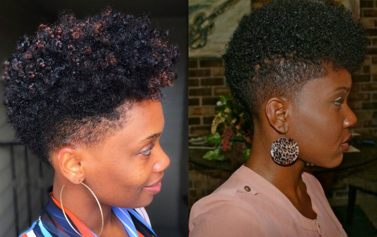 Black Women Fade Haircuts To Look Edgy And Sexy | Hairstyles 2017 Within Edgy Short Haircuts For Black Women (View 16 of 25)