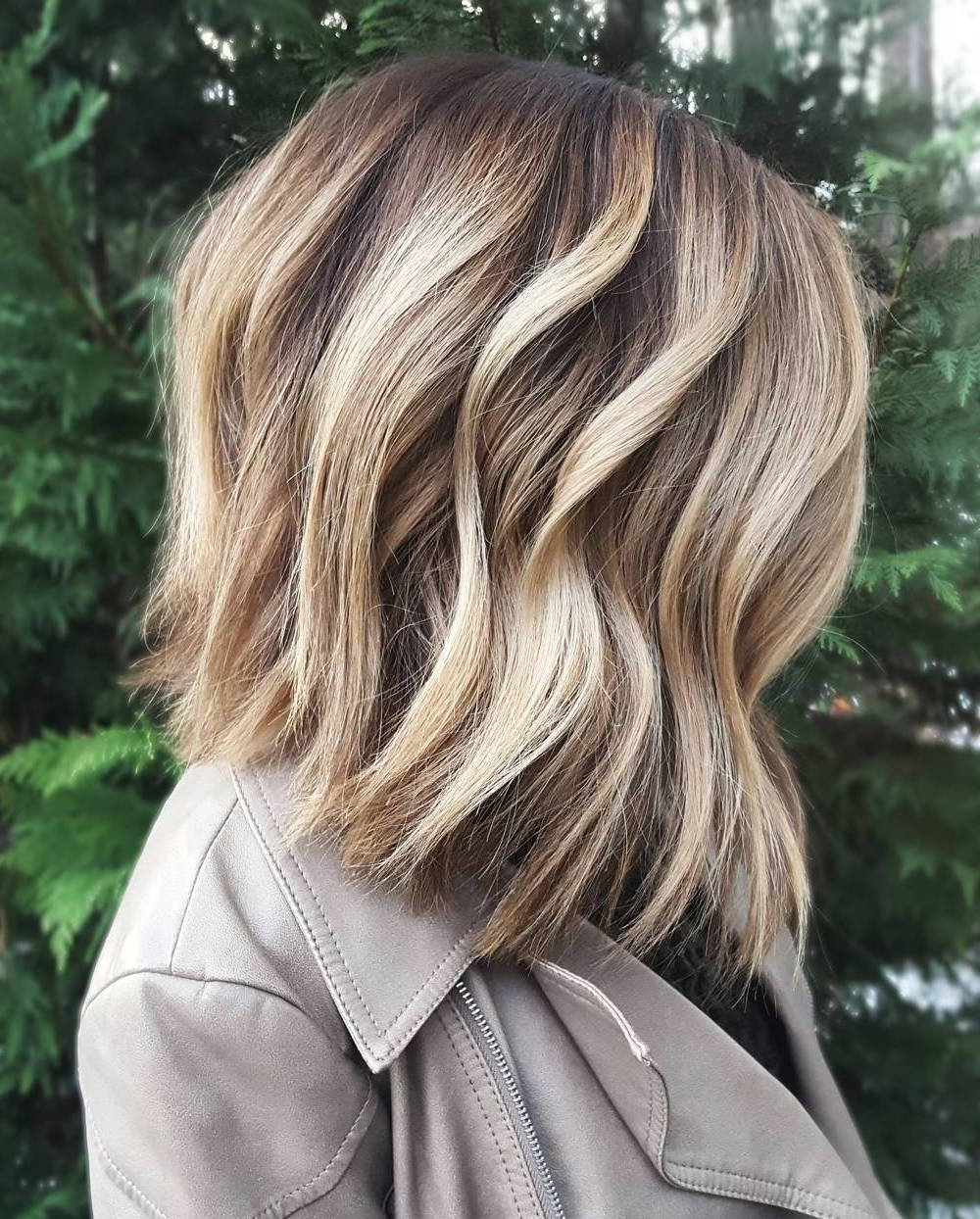 Blonde Hair Color Shades {Best Ideas For 2018} For Angelic Blonde Balayage Bob Hairstyles With Curls (View 16 of 25)