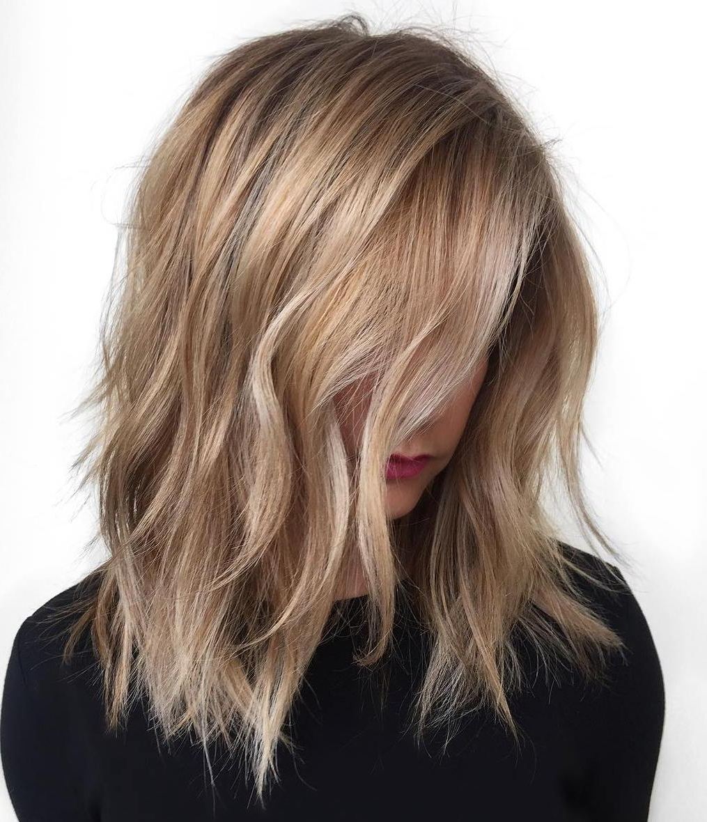 Blonde Hair Color Shades {Best Ideas For 2018} With Angelic Blonde Balayage Bob Hairstyles With Curls (View 19 of 25)