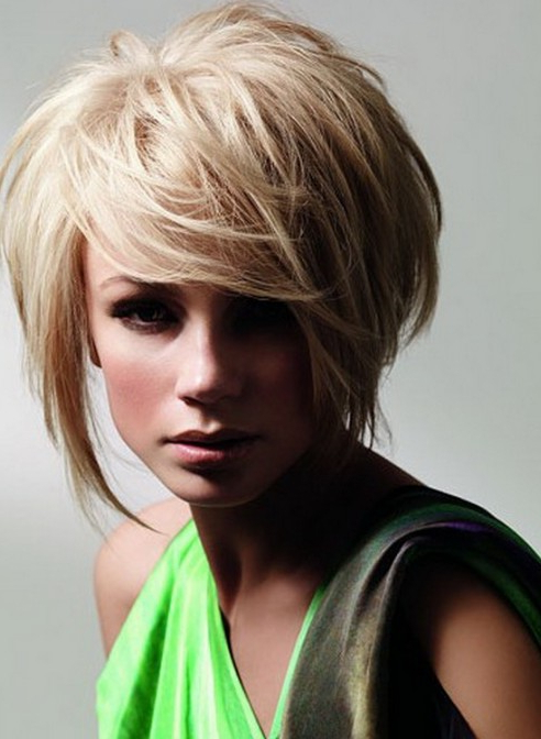 Blonde Hairstyles Archives – Styles Weekly Pertaining To Sleek Blonde Bob Haircuts With Backcombed Crown (View 19 of 25)