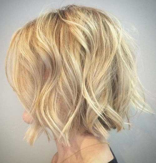 Blonde Tousled Wavy Bob | Styles For Wavy Hair | Pinterest | Hair With Tousled Wavy Bob Haircuts (View 23 of 25)