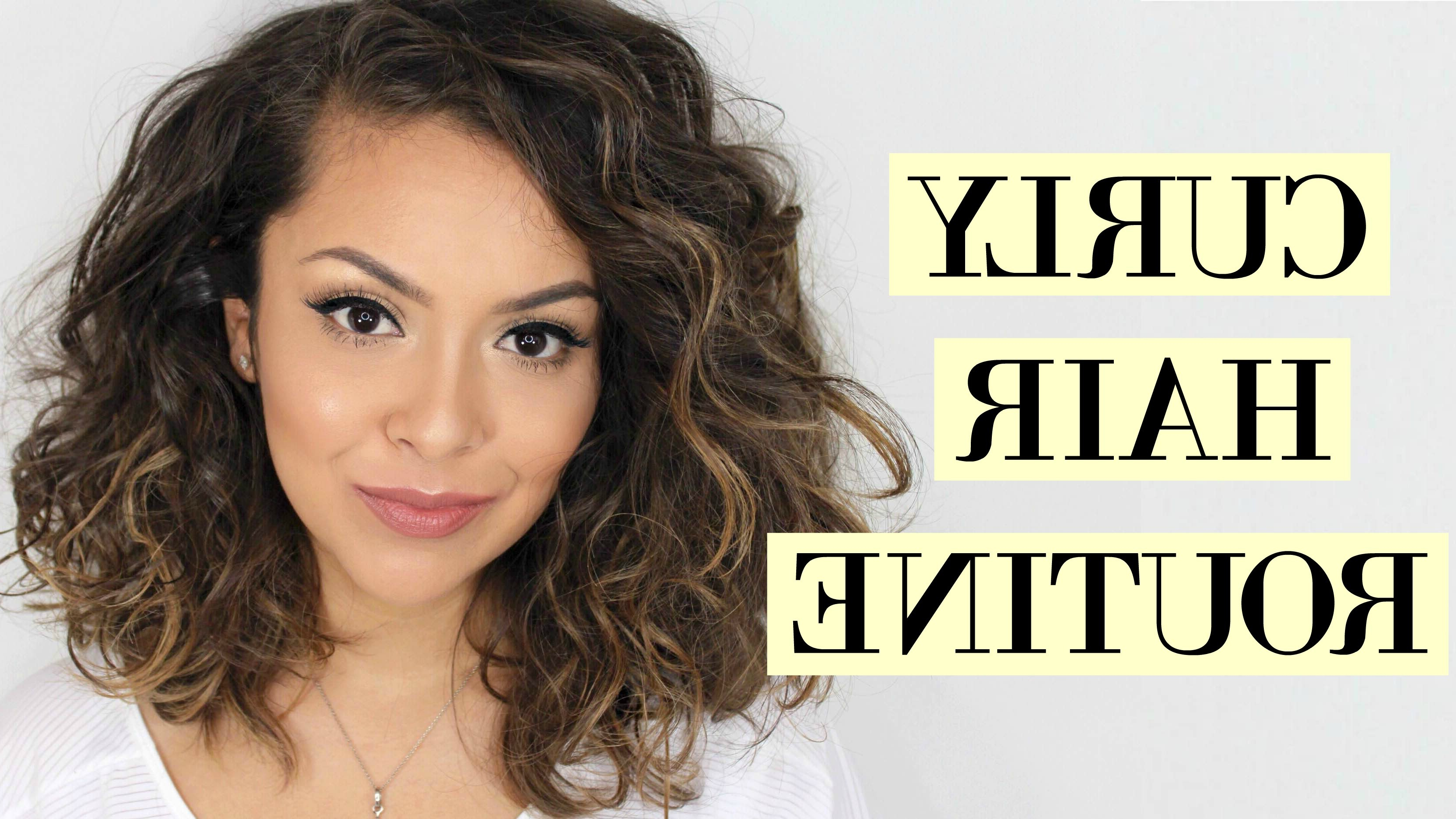 Blow Dry Short Curly Hair Unique Curly Hair Routine For Short Hair Regarding Blow Dry Short Curly Hair (View 13 of 25)