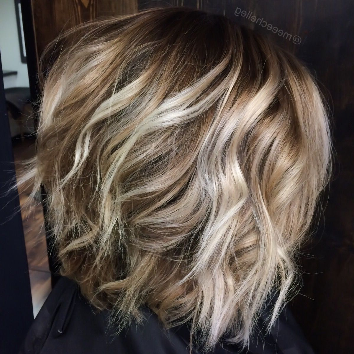 Bob, Blonde, Highlights, Lowlights, Bright Blonde Pieces, Waves For Short Bob Hairstyles With Whipped Curls And Babylights (View 5 of 25)