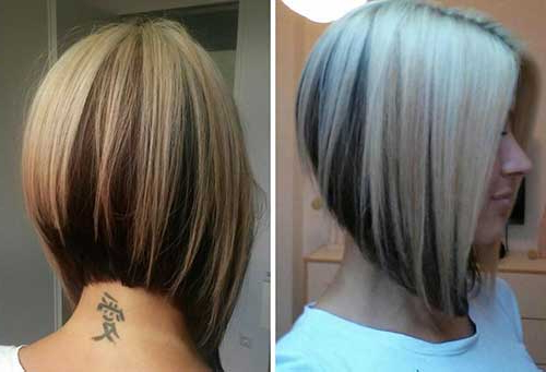 Bob For Thick Hair Bob Hairstyles 2015 Short Hairstyles For Women In Angled Bob Hairstyles For Thick Tresses (Gallery 3 of 25)