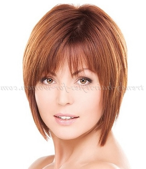 Bob Haircut – Bob Hairstyle For Fine Hair | Trendy Hairstyles For Pertaining To Layered Bob Haircuts For Fine Hair (View 25 of 25)