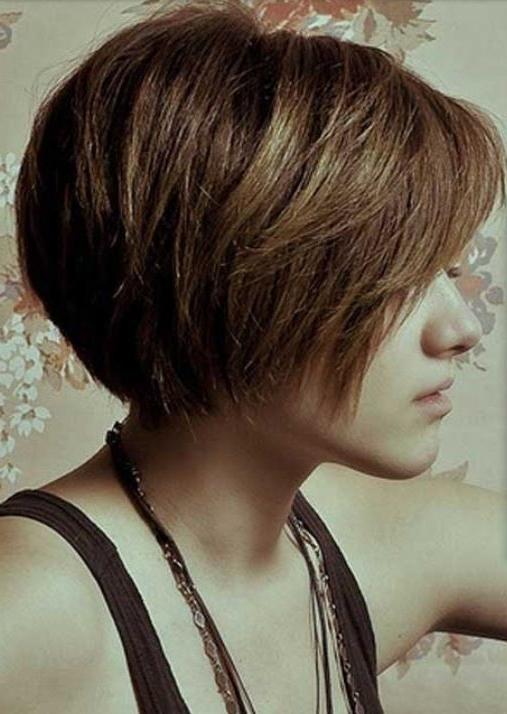 Bob Haircut For Thick Hair Via | Haircuts For Smooth Bob Hairstyles For Thick Hair (View 9 of 25)