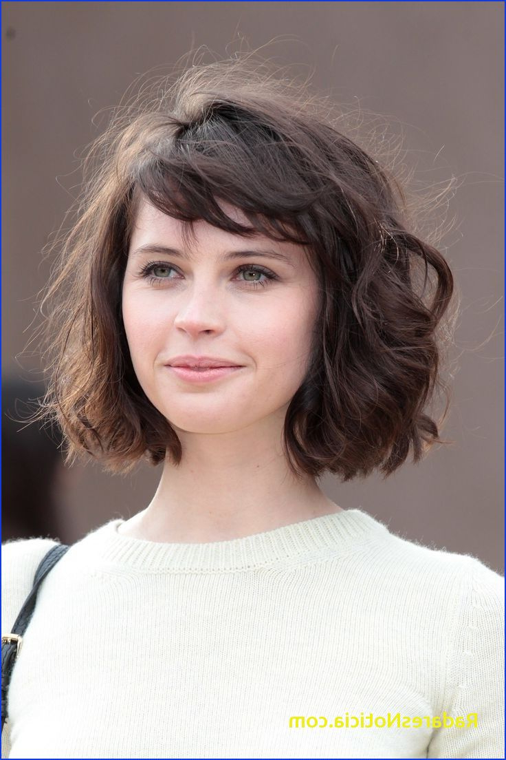 Bob Haircuts For Curly Hair 20 Feminine Short Hairstyles For Wavy With Regard To Short Haircuts For Wavy Frizzy Hair (View 2 of 25)
