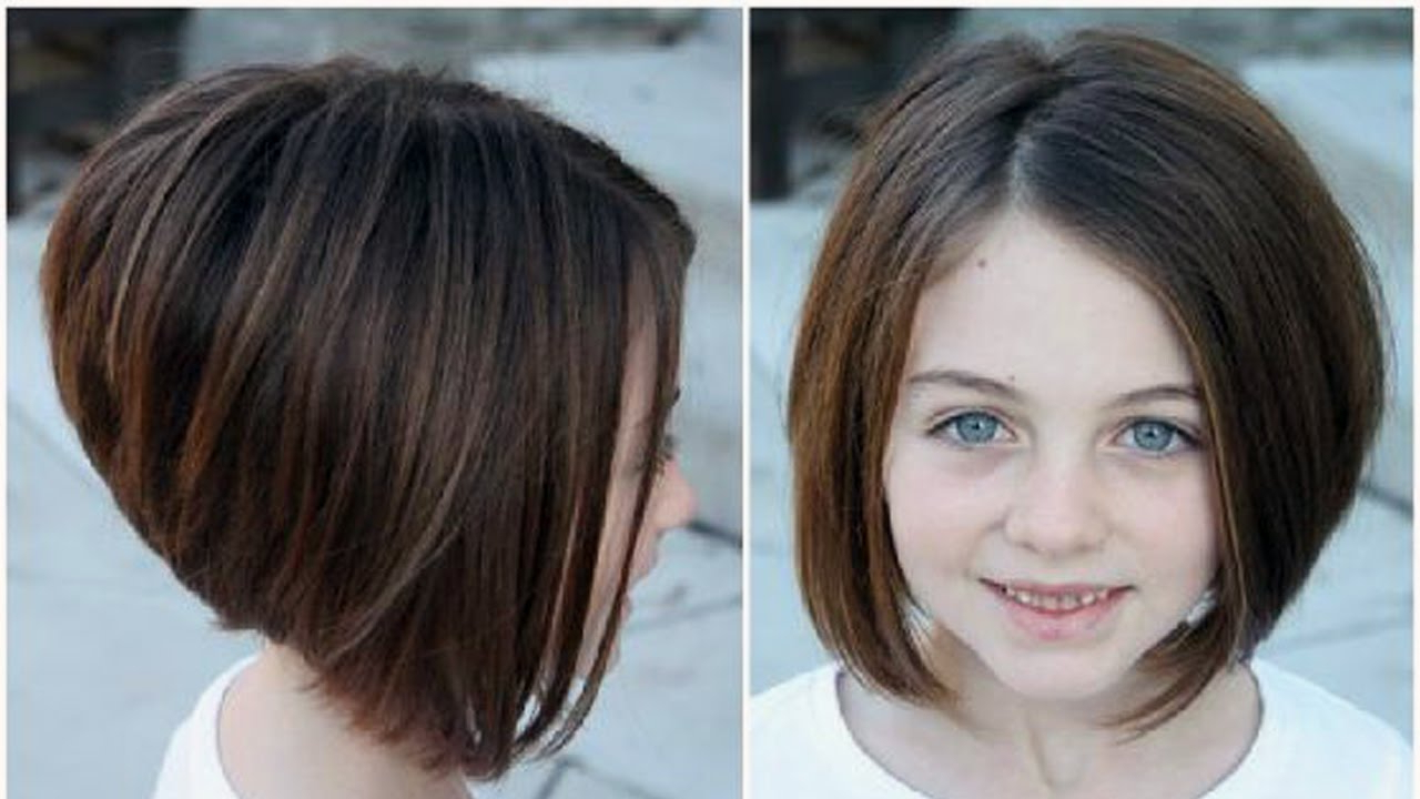 Bob Haircuts For Little Girls – Girls Haircuts – Youtube Pertaining To Baby Girl Short Hairstyles (View 15 of 25)