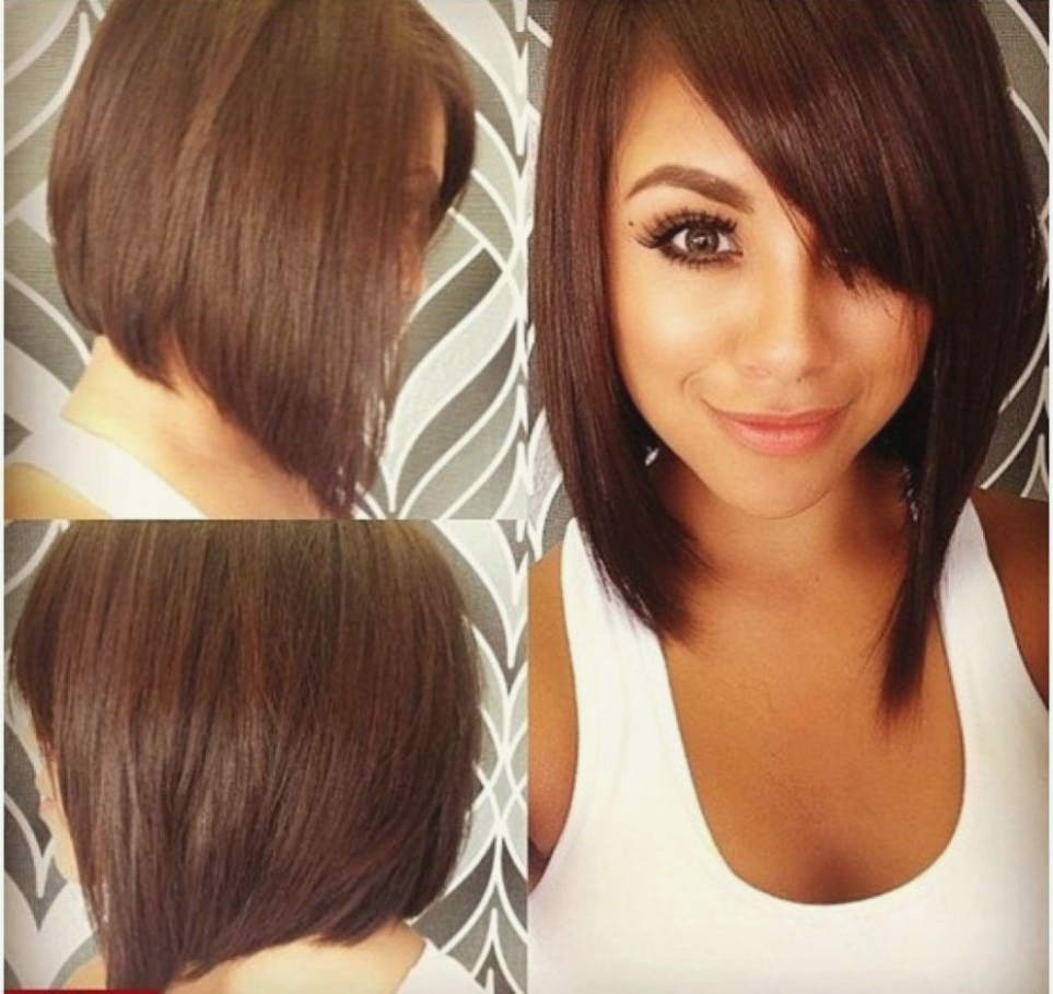 Bob Haircuts For Round Face Medium Short Hairstyle For Fat Faces Bob For Short Haircuts For Big Round Face (View 8 of 25)