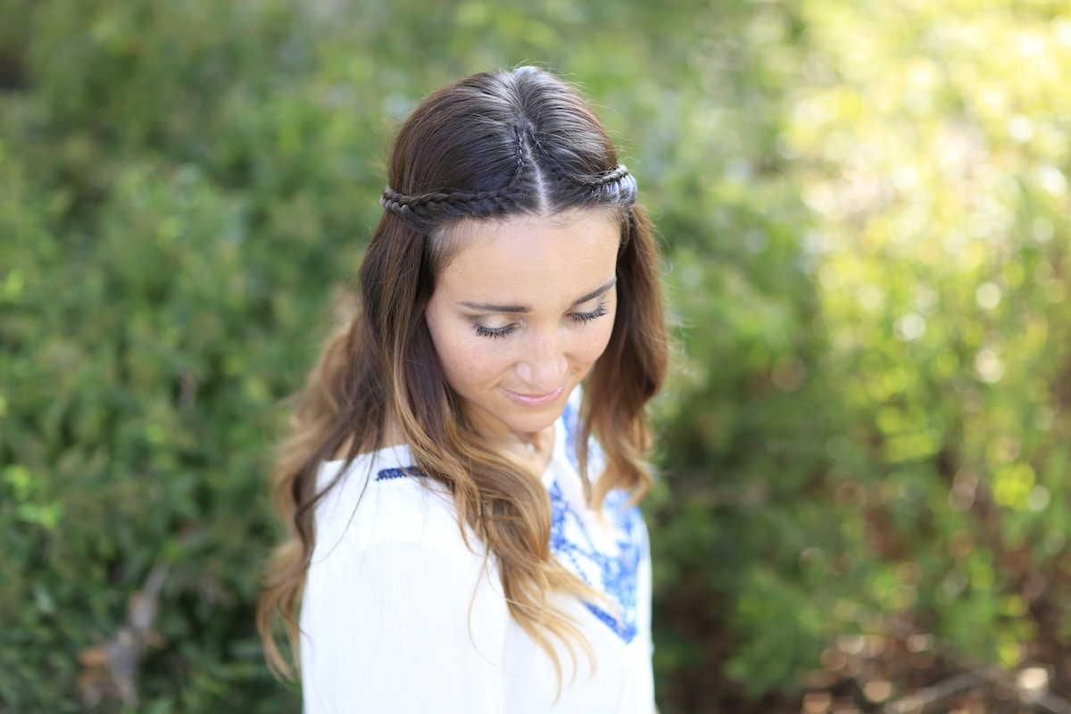 Boho Lace Tieback | Bohemian Chic Hairstyles | Cute Girls Hairstyles Within Hippie Short Hairstyles (View 17 of 25)