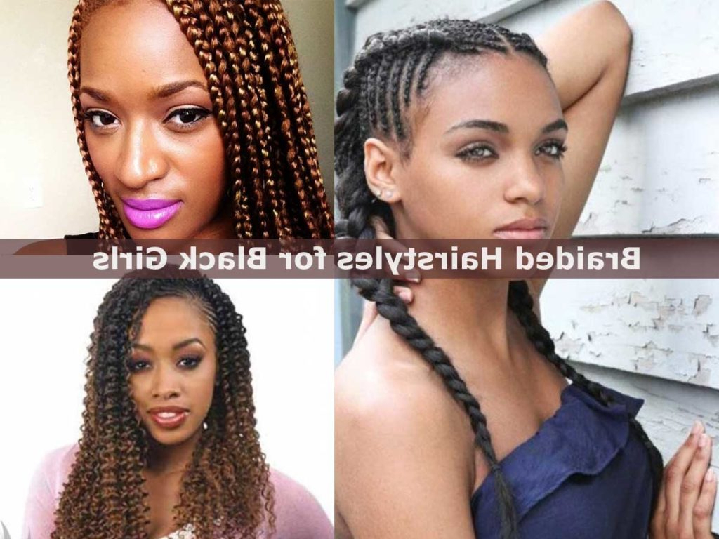 Braided Hairstyles For Black Girls – Hairstyle For Women & Man Within Cute Short Hairstyles For Black Teenage Girls (View 21 of 25)