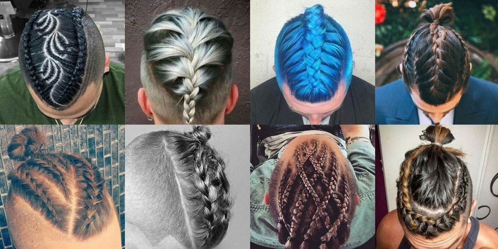 Braids For Men – The Man Braid | Men's Haircuts + Hairstyles 2018 With Braided Maze Low Ponytail Hairstyles (View 20 of 25)