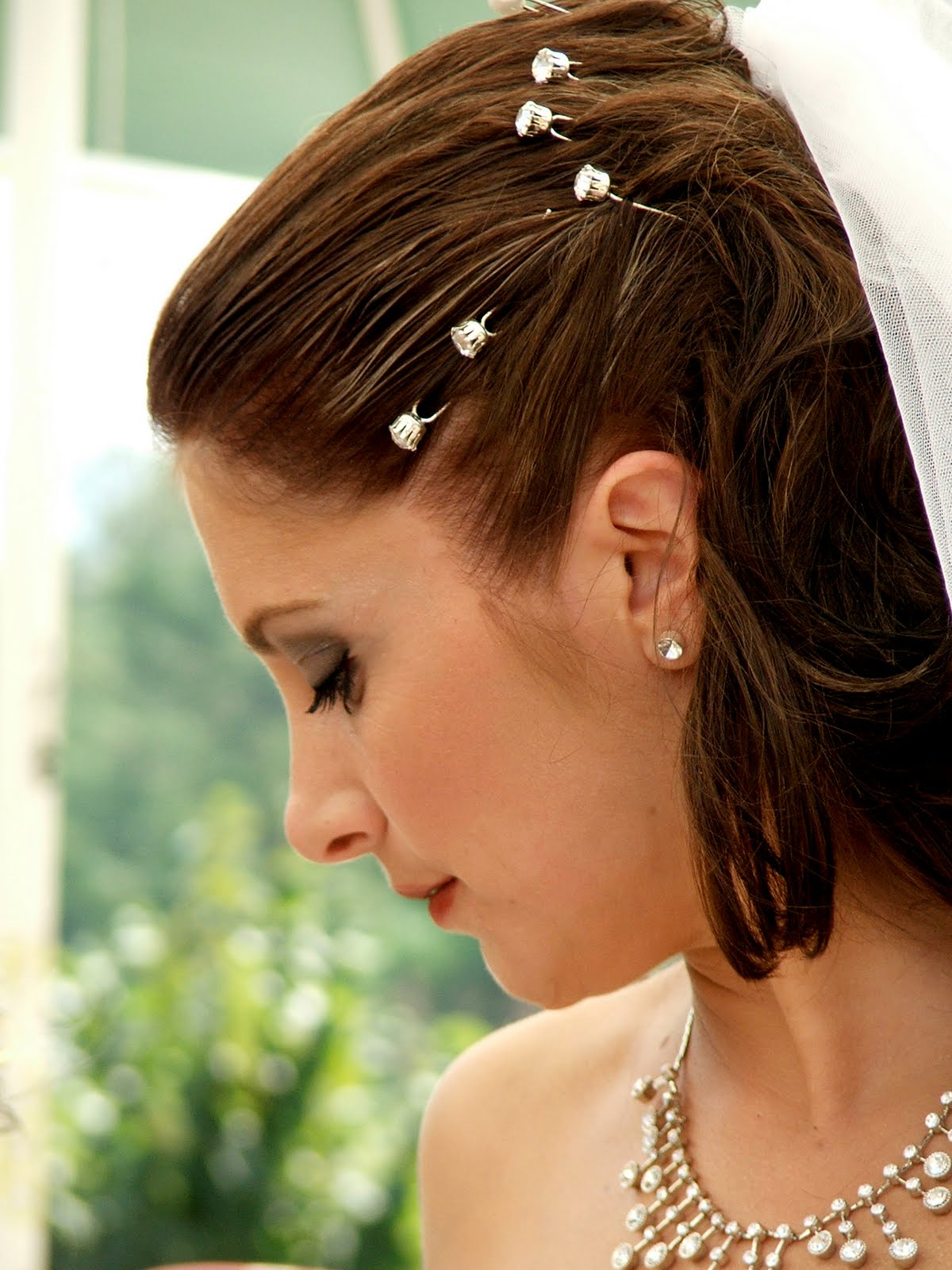 Bridal Veil Ideas For Short Hair Styles Inside Short Haircuts For Studs (View 12 of 25)