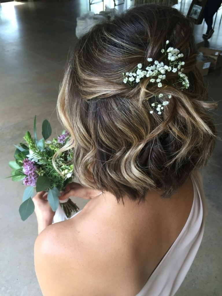 Bridesmaid Hairstyles For Short Hair | Hair And Hairstyles Within Bridal Hairstyles Short Hair (View 12 of 25)