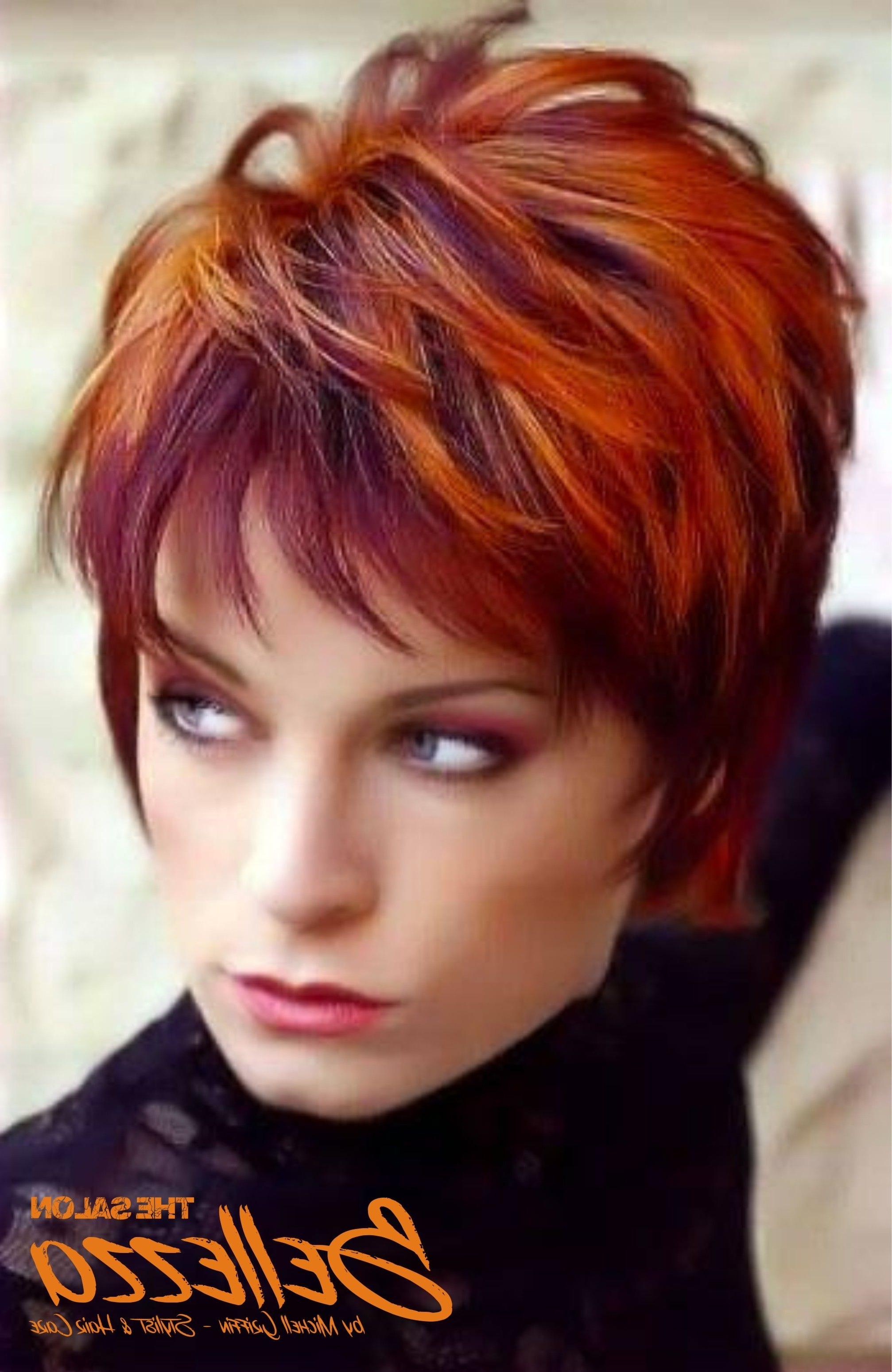 Burgundy & Cooper | Cobrizos | Pinterest | Hair Style, Short Hair Throughout Burgundy Short Hairstyles (View 9 of 25)