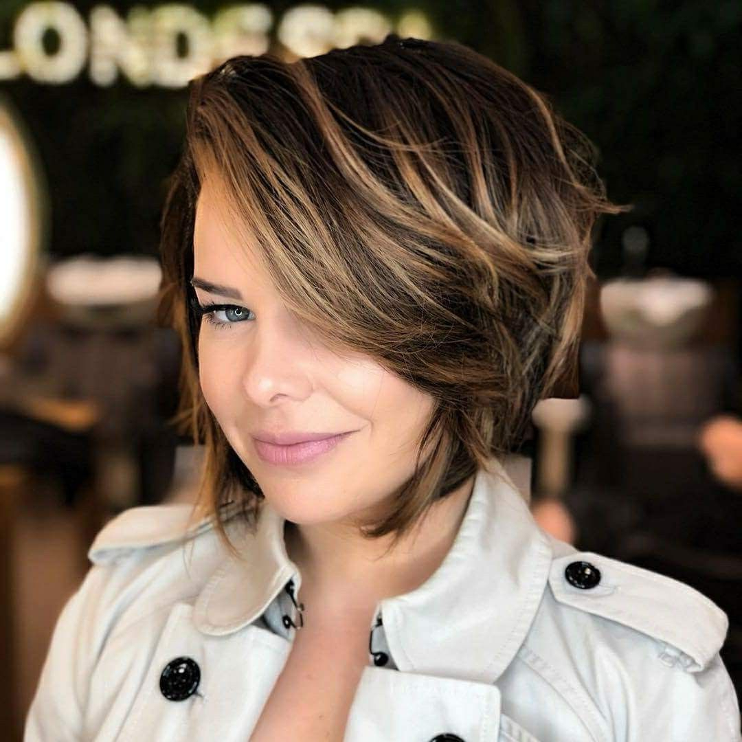 Cabelo | Hair | Pinterest | Hair Styles, Hair Cuts And Short Layered Within Edgy Short Bob Haircuts (View 15 of 25)