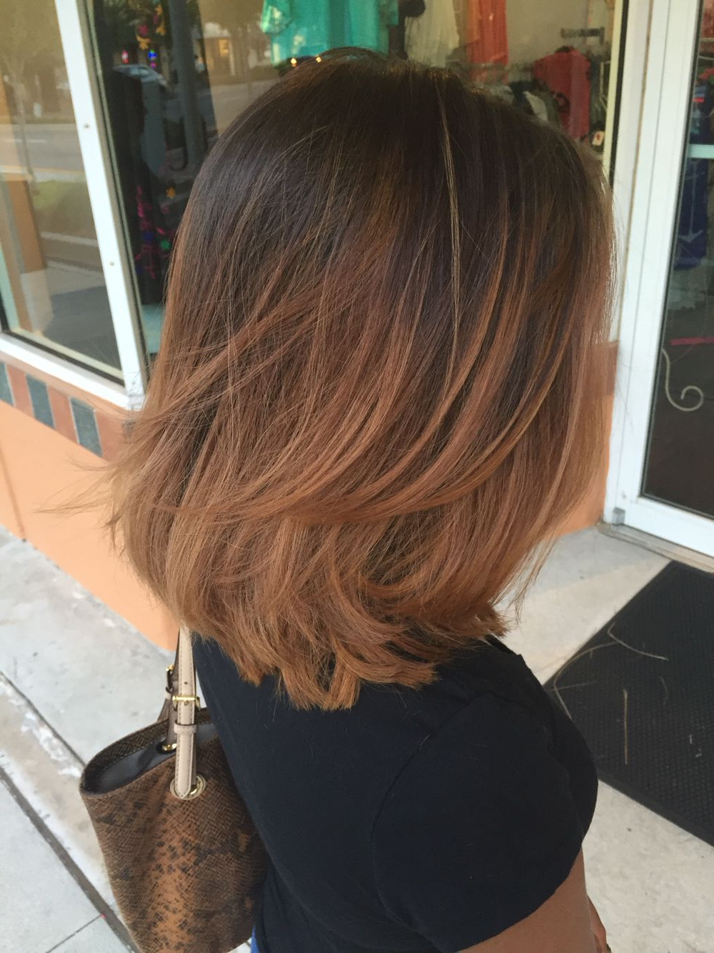 Cabelos E Penteados … | Fav Hair In 2018… In Long And Short Layers (View 15 of 25)