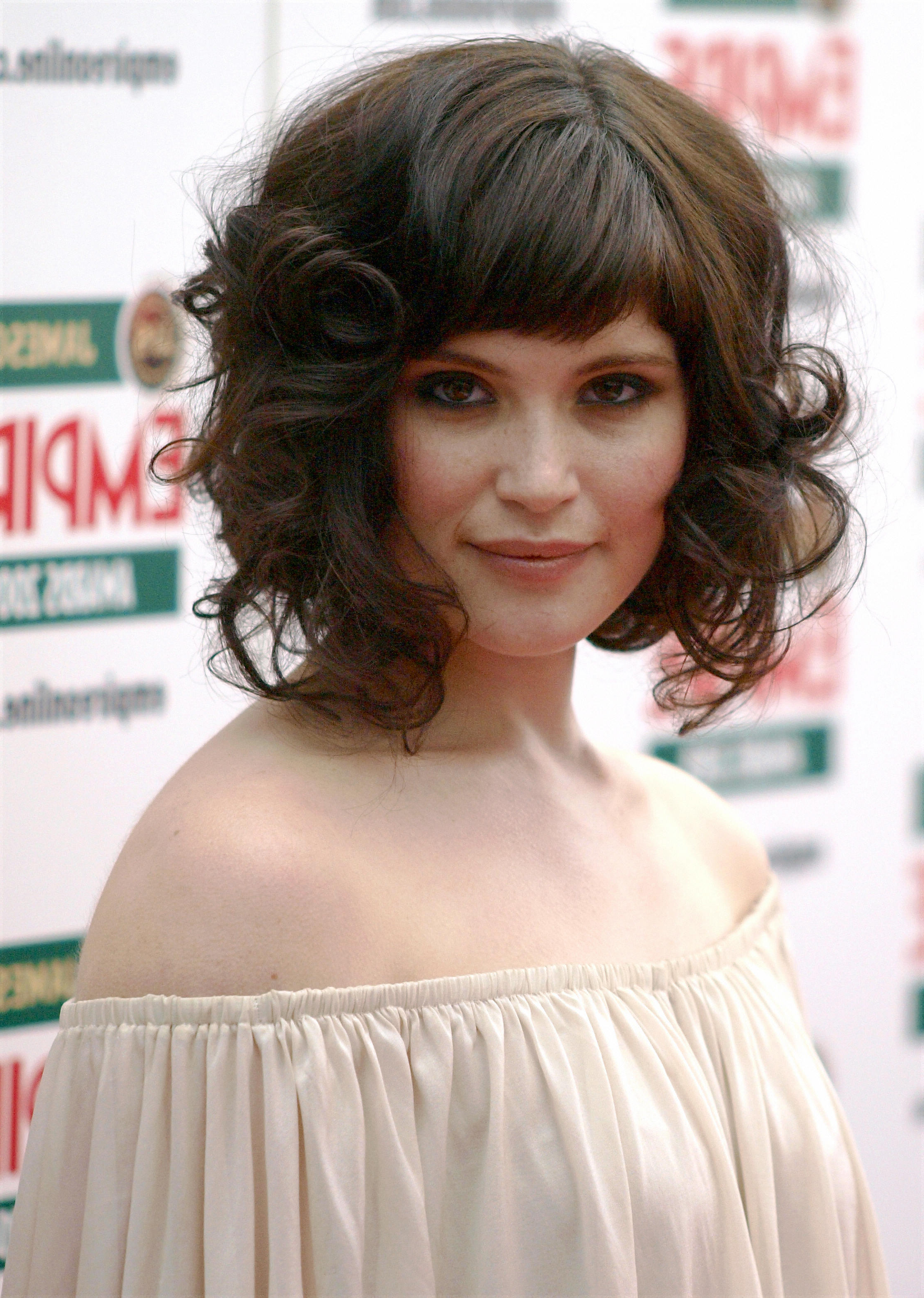 Can You Have Bangs With Curly Hair? 6 Steps To Making Sure You Can! Throughout Wavy Messy Pixie Hairstyles With Bangs (View 14 of 25)