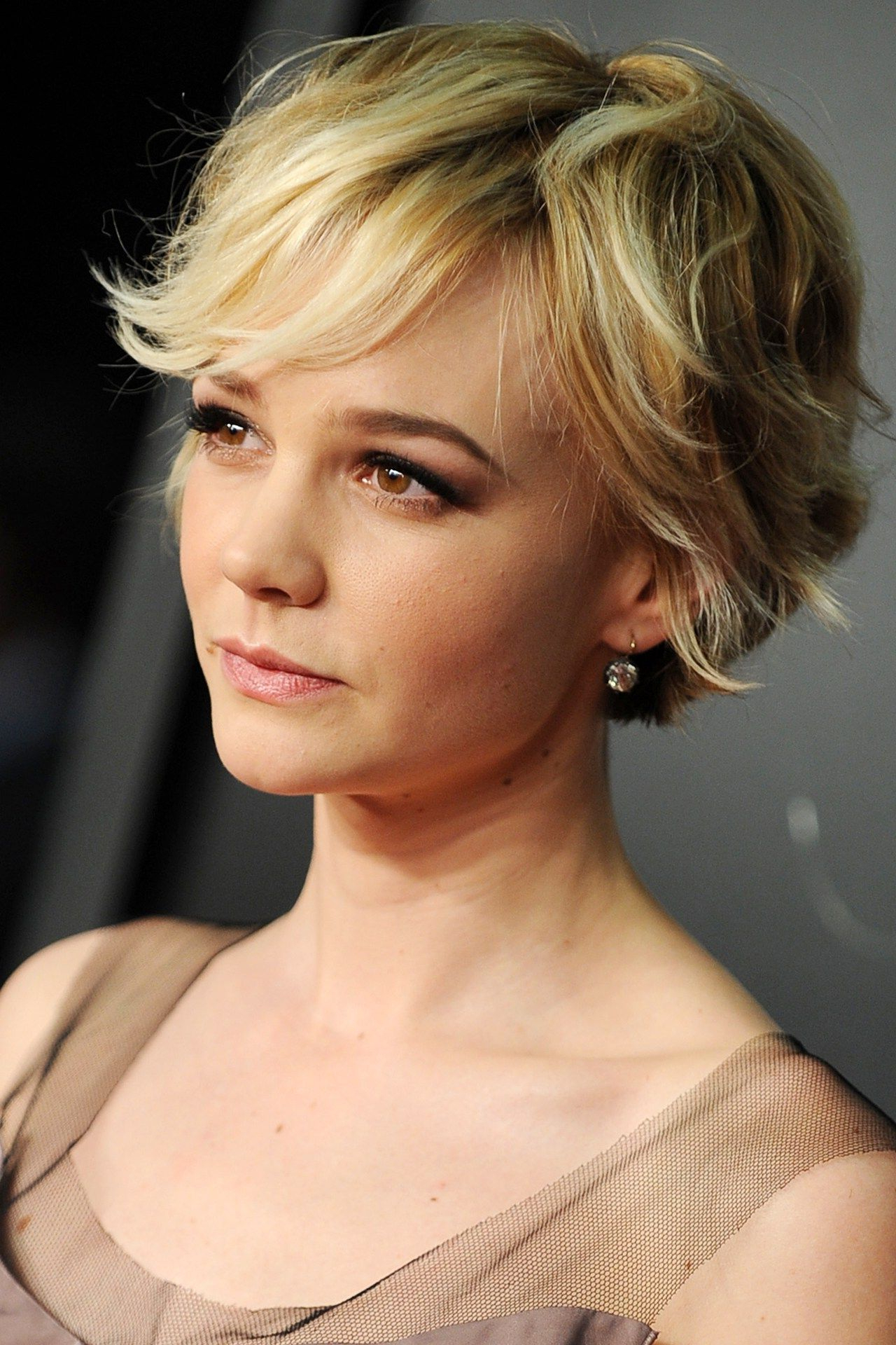 Carey Mulligan: Hair Style File   Colours/products   Pinterest Pertaining To Short Haircuts Bobs Crops (View 26 of 26)