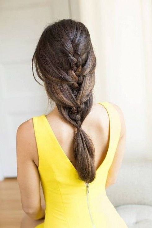 Cascaded Braid | Cultured Coiffures | Pinterest | Cascade Braid Pertaining To Cascading Braided Ponytails (View 14 of 25)