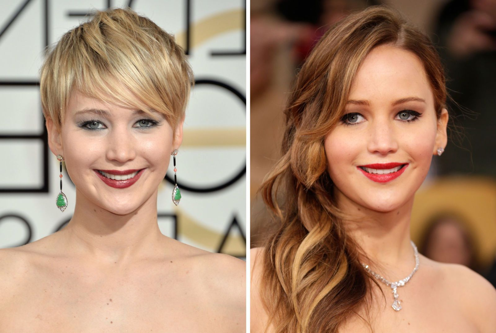 Celebrities With Long And Short Hair – Long And Short Celebrity Hair Pertaining To Celebrities Short Haircuts (View 24 of 25)