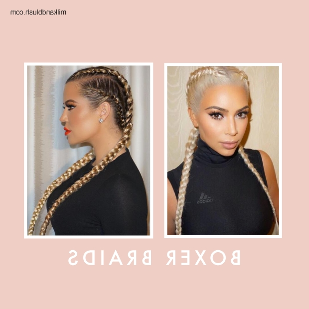Celebrity Braids | Hair Extensions Blog | Hair Tutorials & Hair Care Inside Fishtail Ponytails With Hair Extensions (View 8 of 25)
