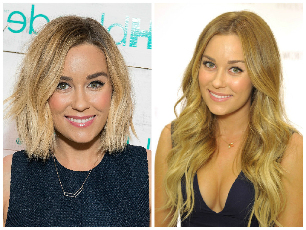 Celebrity Hair Transformations From Long To Shorter Hair – Hair Inside Lauren Conrad Short Haircuts (View 10 of 25)