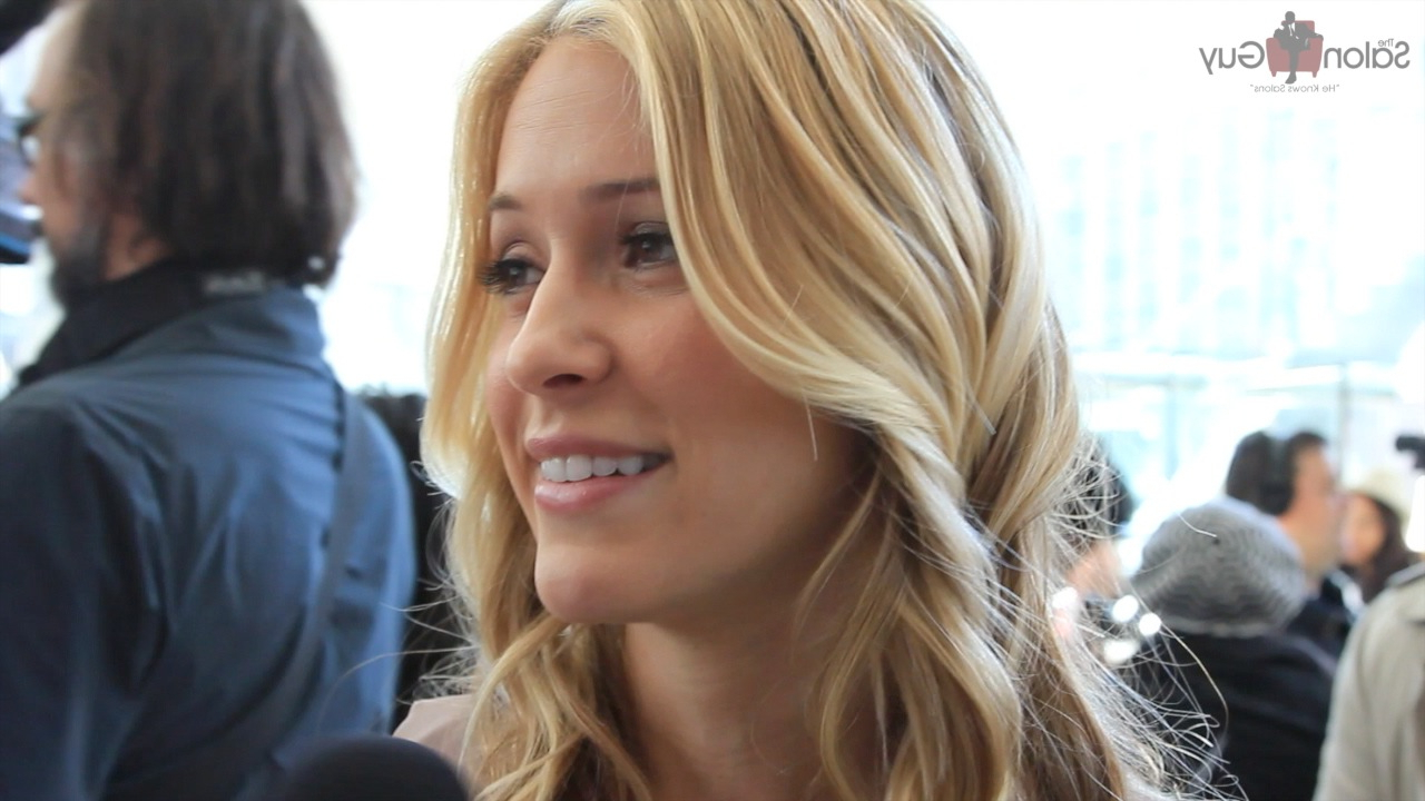 Celebrity Hairstyle Beachy Waves With A Flat Iron Feat (View 23 of 25)