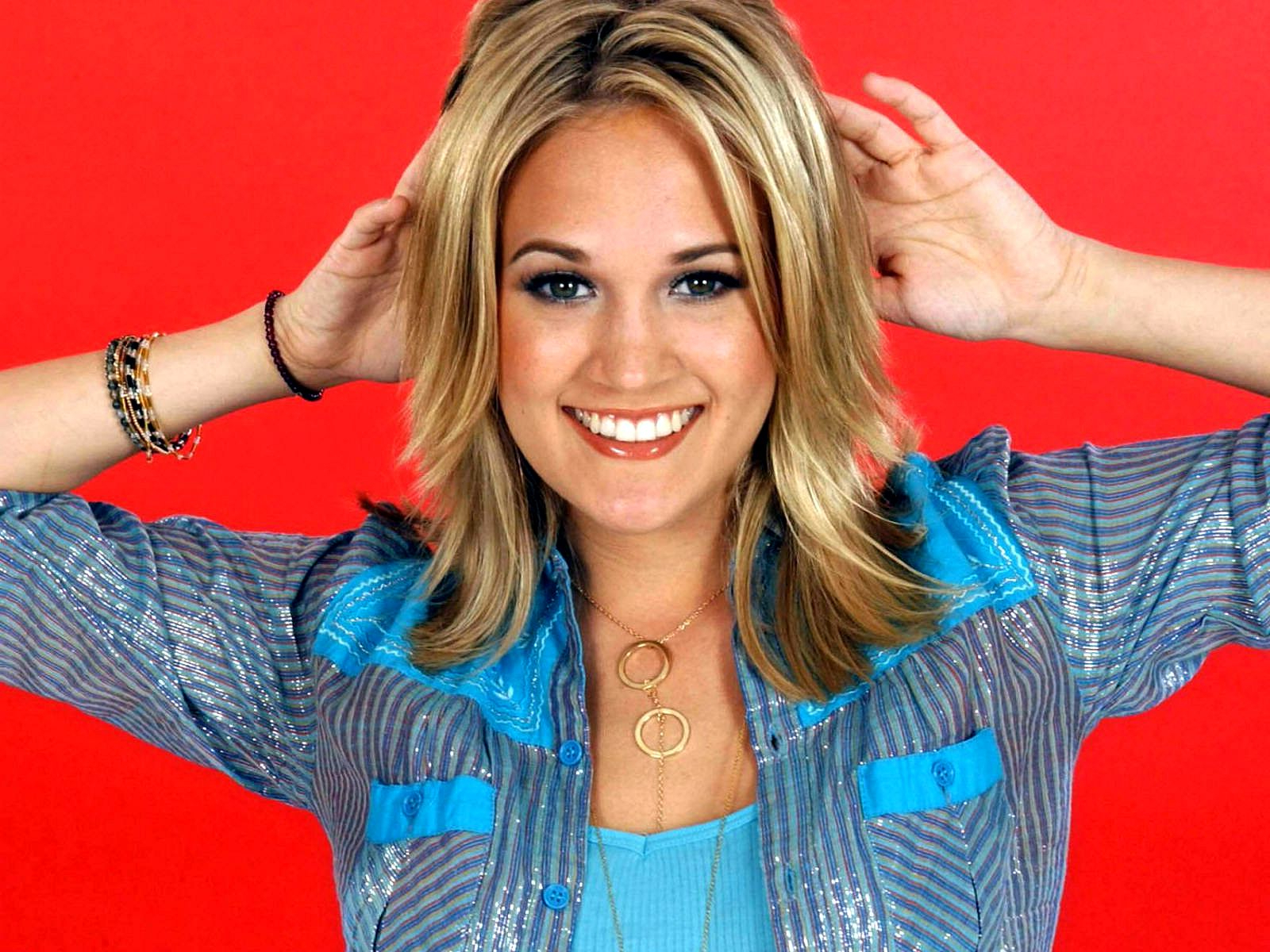 Celebrity Hairstyle: Carrie Underwood Haircut Styles (View 6 of 25)