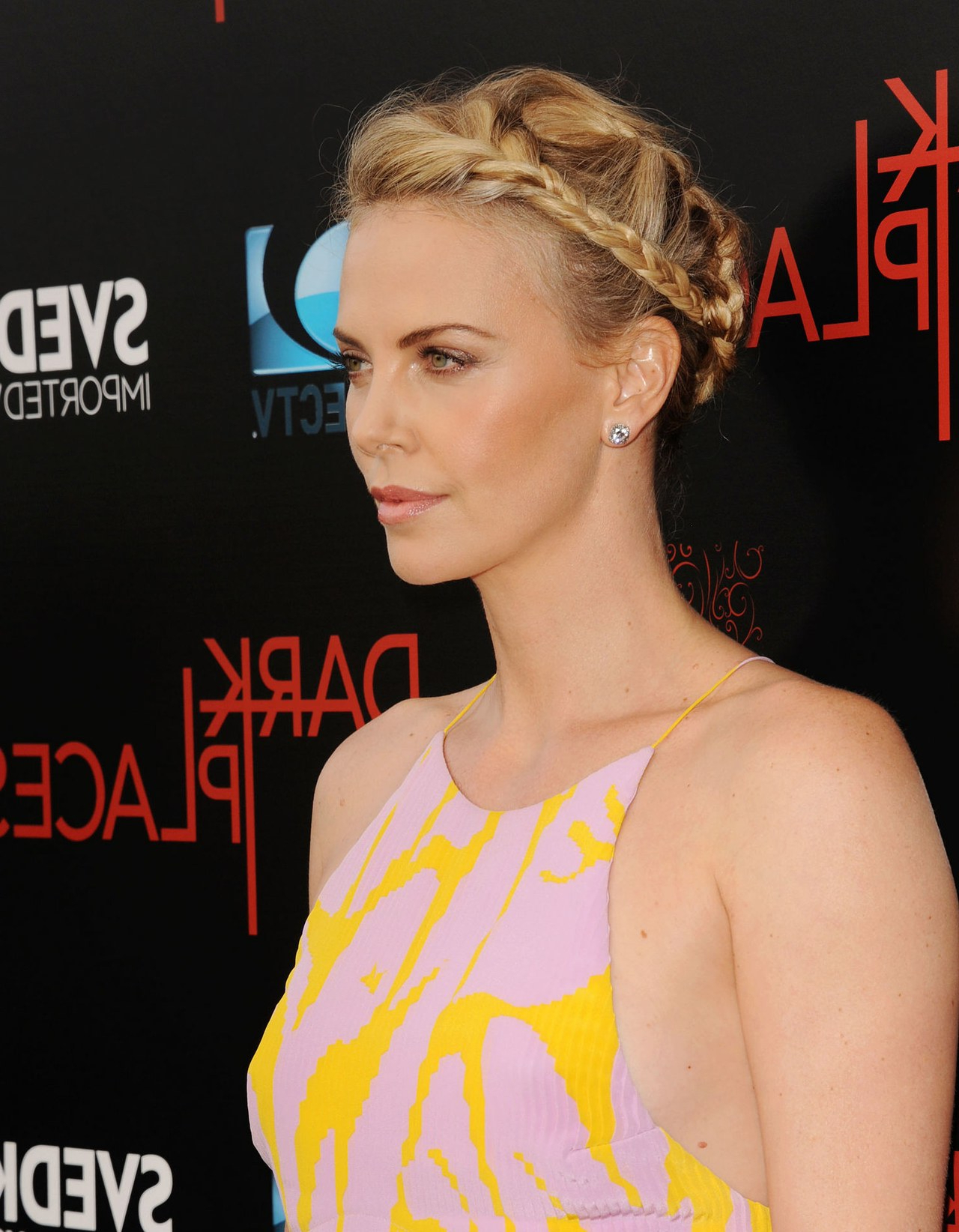 Charlize Theron Just Chopped Her Hair Super Short   Glamour Regarding Charlize Theron Short Haircuts (View 14 of 25)