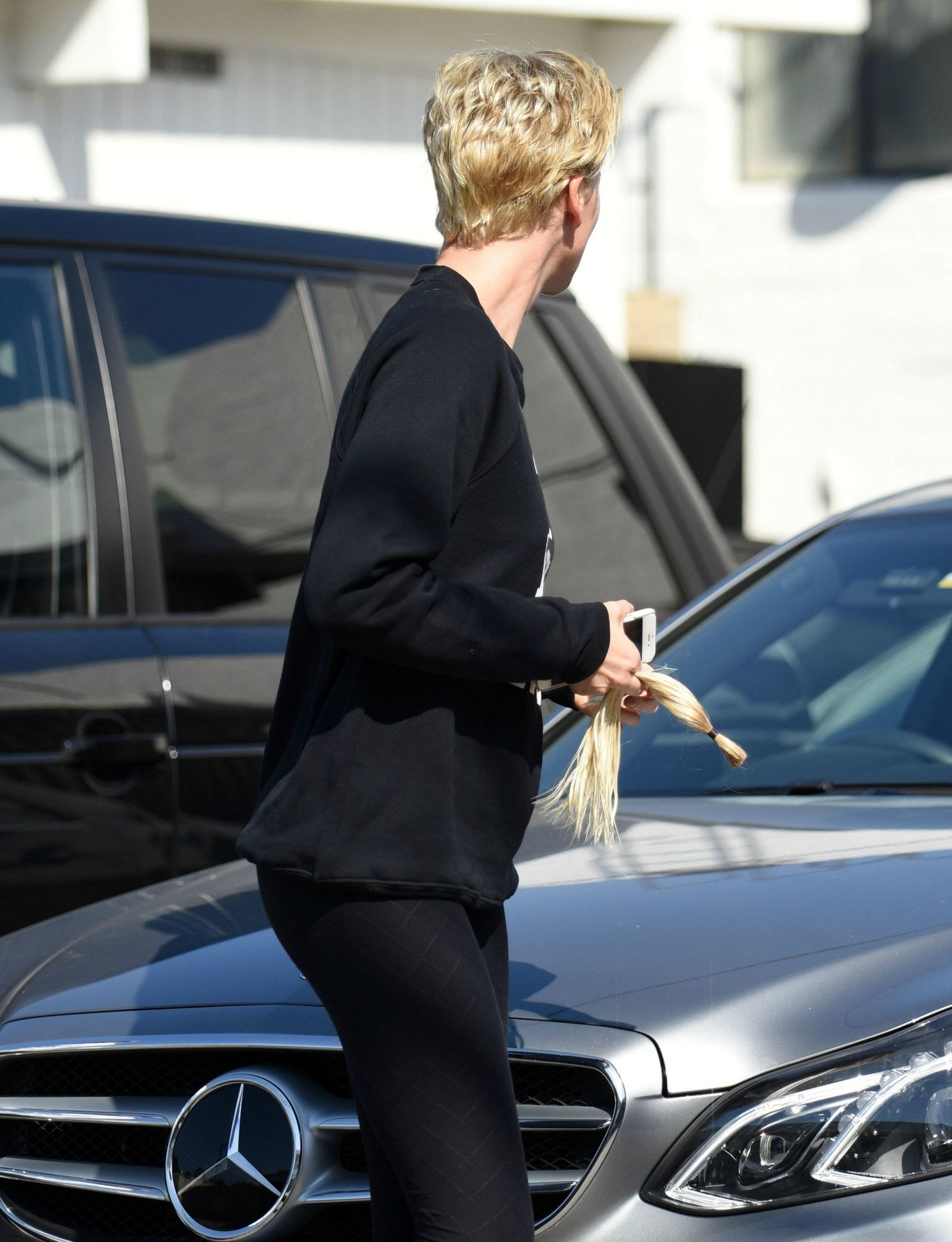 Charlize Theron Just Chopped Her Hair Super Short   Glamour Throughout Charlize Theron Short Haircuts (View 23 of 25)