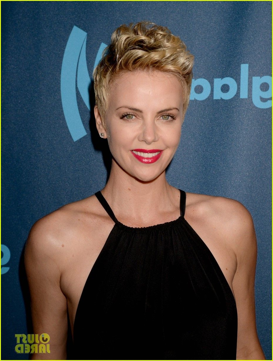 Charlize Theron – Stunning!   Hair   Pinterest   Charlize Theron And Inside Charlize Theron Short Haircuts (View 5 of 25)