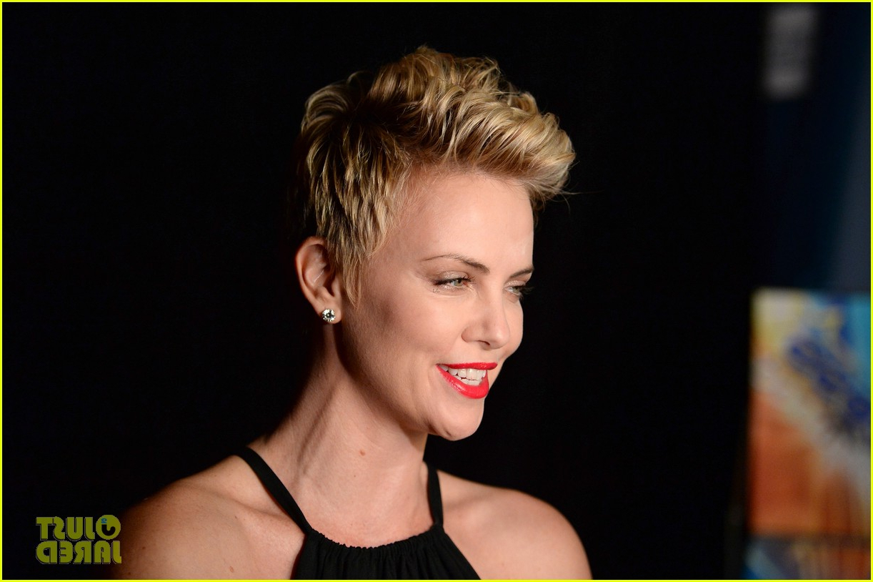 Charlize Theron Super Short Hair   Cool Hairstyles Inside Charlize Theron Short Haircuts (View 18 of 25)