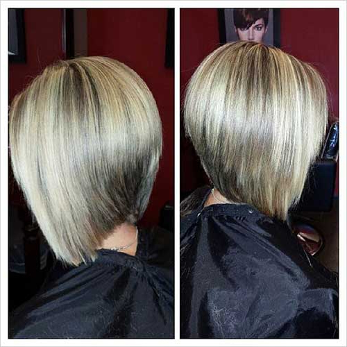 Chic Inverted Bob Hair Cuts For Women | Short Hairstyles 2017 – 2018 In Voluminous Nape Length Inverted Bob Hairstyles (View 25 of 25)