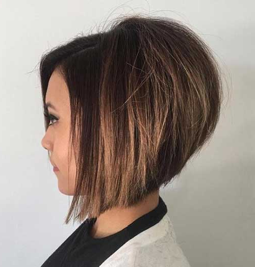 Chic Inverted Bob Hair Cuts For Women | Short Hairstyles 2017 – 2018 With Regard To Voluminous Nape Length Inverted Bob Hairstyles (View 7 of 25)