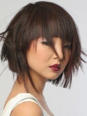 Chic Medium Asymmetrical Haircuts – Go Seriously Stylish With These In Chic Asymmetrical Haircuts (View 14 of 25)