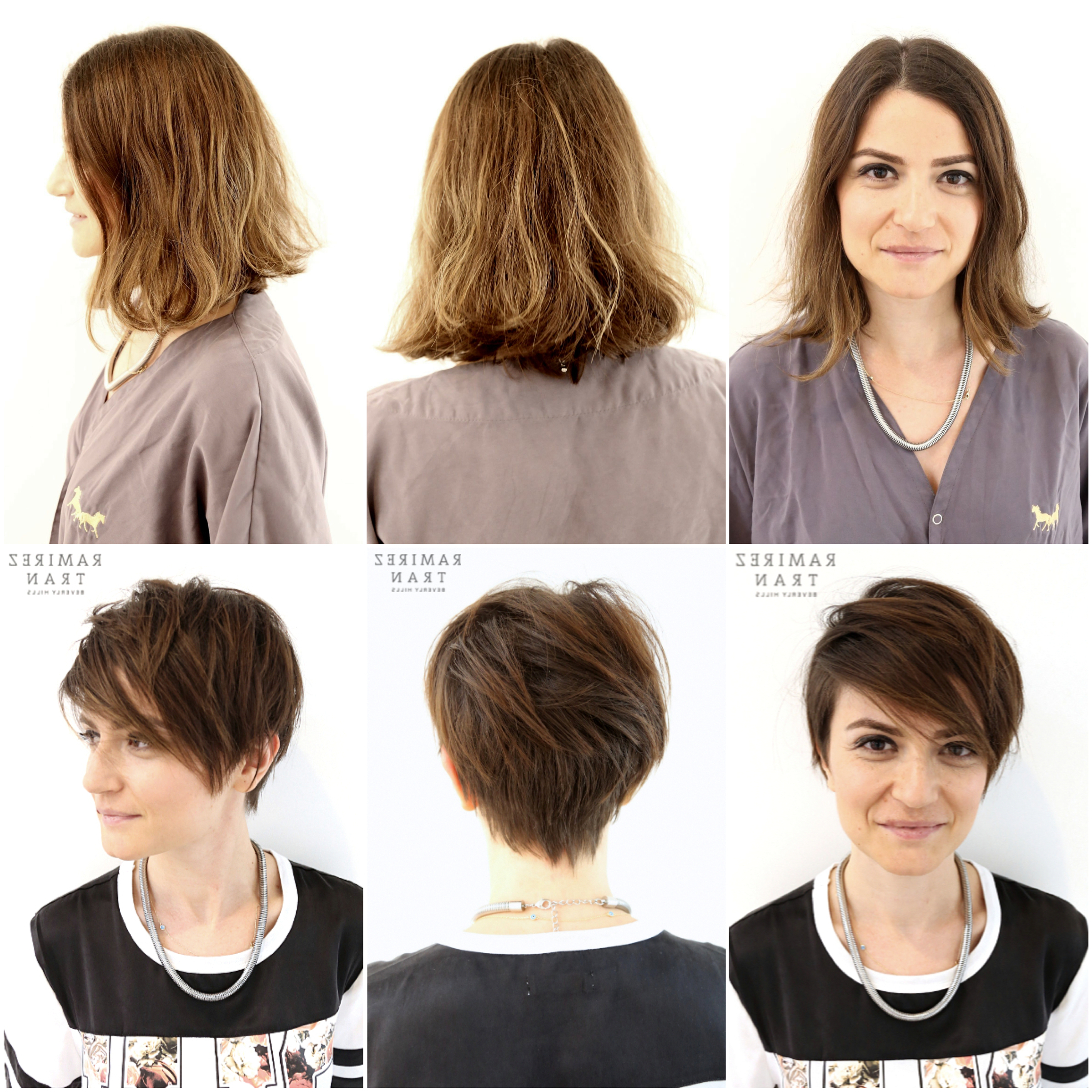 Chic & Modern Pixie Done @ The Salon In Miami – Ramirez | Tran Salon Regarding Short Hairstyles For Growing Out A Pixie Cut (View 12 of 25)
