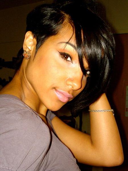 Chic Short Haircuts For Black Women   Hair Cuts   Pinterest   Short Regarding Chic Asymmetrical Haircuts (View 13 of 25)