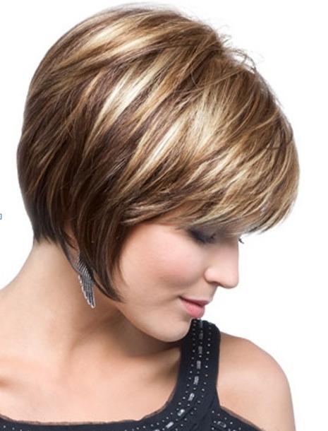 Chin Length, Texture Bob Haircut – Popular Haircuts Pertaining To Textured Bob Haircuts With Bangs (View 24 of 25)
