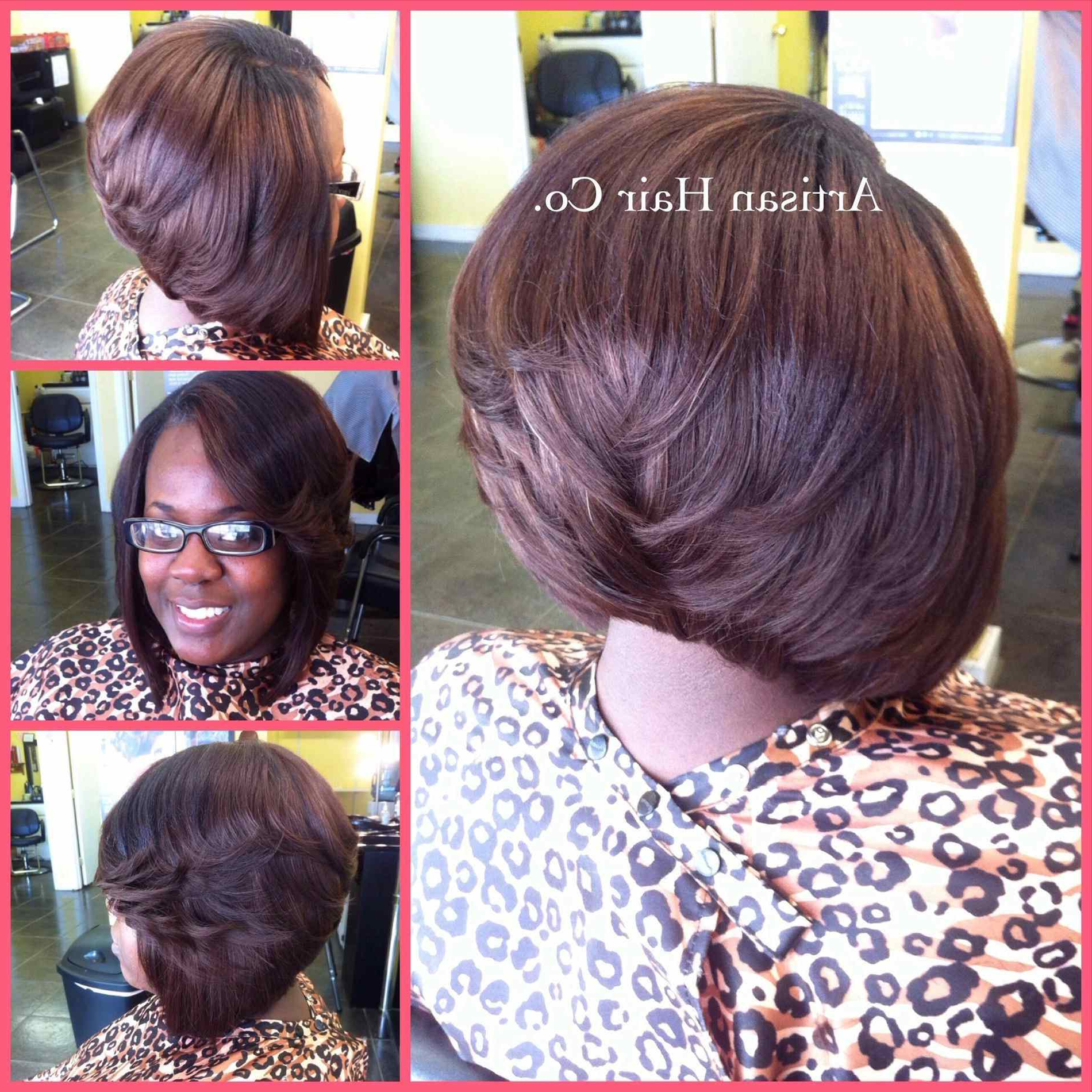 Classy Layered Bob African American Hairstyles On Short Layered Bob In Short Layered Hairstyles For Black Women (View 25 of 25)