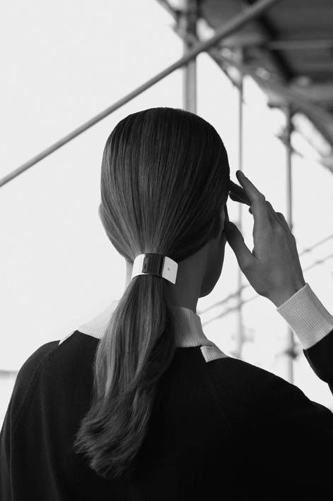 Clip Art: Effortless Hairstyles That Shine | Pinterest | Barrette Throughout Sculpted And Constructed Black Ponytail Hairstyles (View 12 of 25)