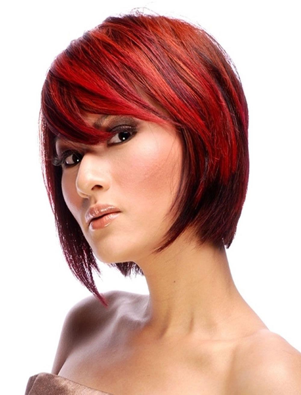 Color De Pelo Rojo Para Peinados Cortos | Colores Del Cabello With Short Haircuts With Red Hair (View 6 of 25)