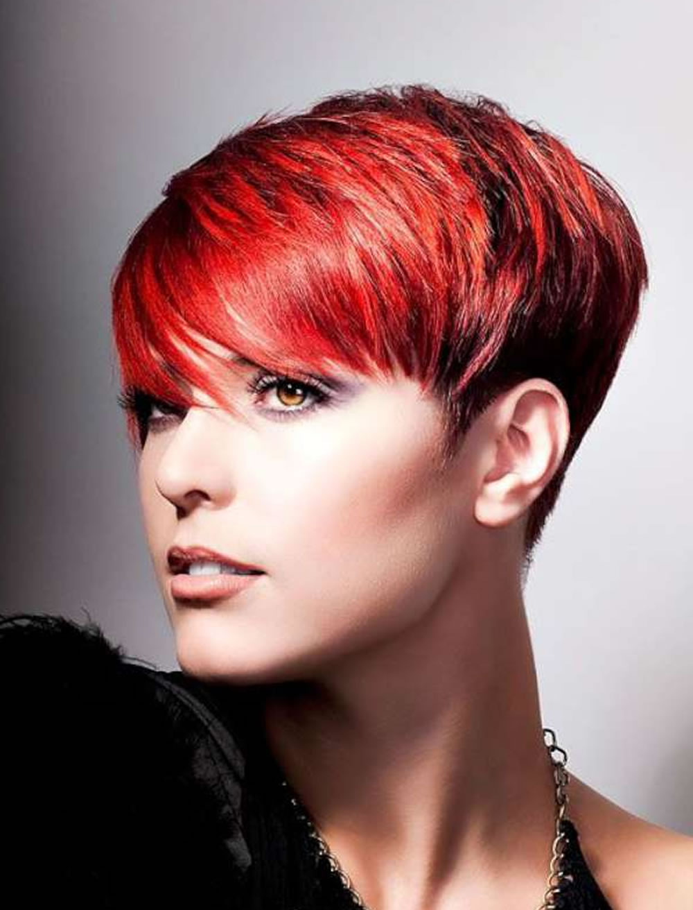 Cool Red Short Hair Cut For 2018 2019 – Hairstyles Regarding Red Short Hairstyles (View 5 of 25)